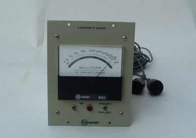 TWO STATION THERMOCOUPLE GAUGE CONTROL