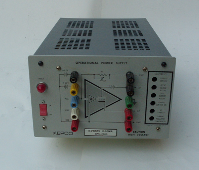 OPERATIONAL POWER SUPPLY, TYPE KEPCO